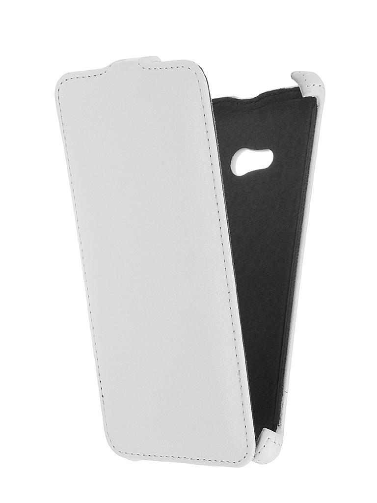 Чехол LG K4 Prime Book White T-P-LK4-05