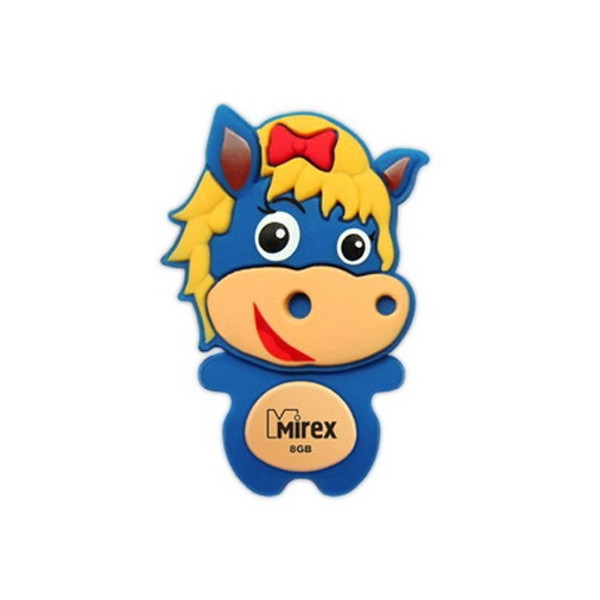 USB Flash Drive 8Gb - Mirex Horse Blue 13600-KIDBHS08
