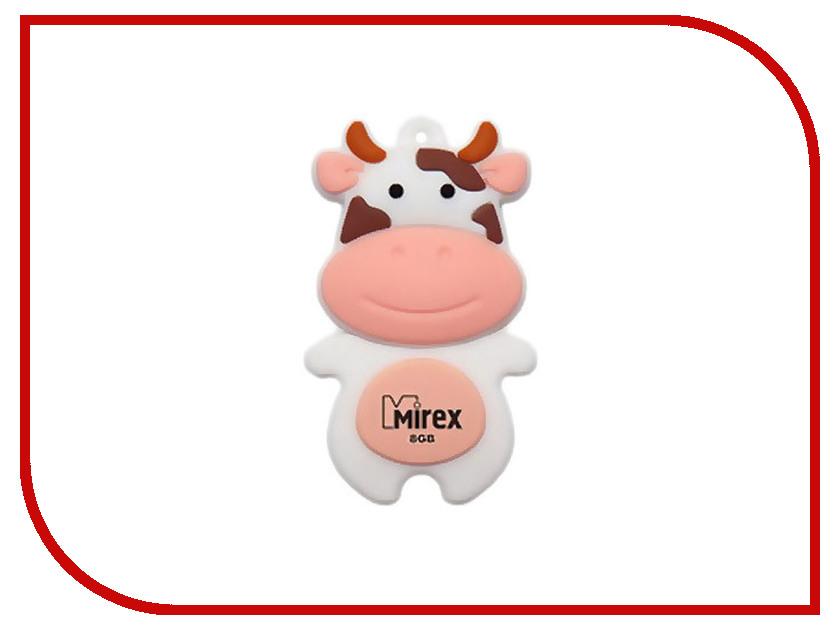 USB Flash Drive 16Gb - Mirex Cow Peach 13600-KIDCWP16<br>