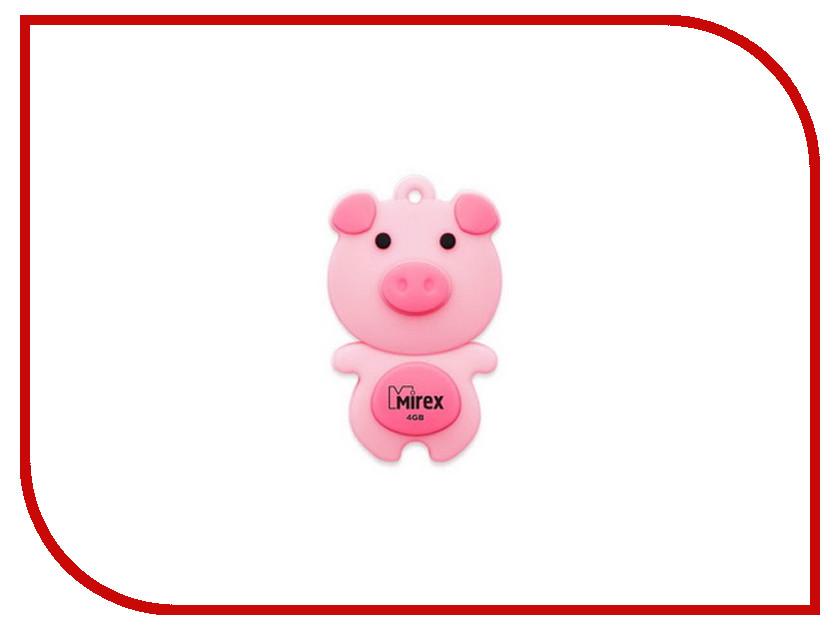 USB Flash Drive 16Gb - Mirex Pig Pink 13600-KIDPIP16<br>