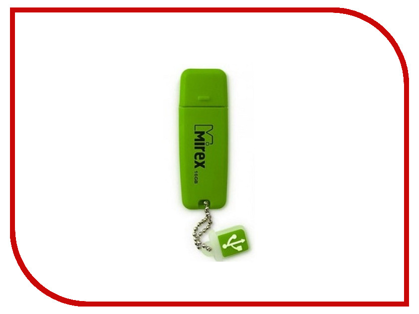 USB Flash Drive 8Gb - Mirex Chromatic Green 13600-FM3CGN08