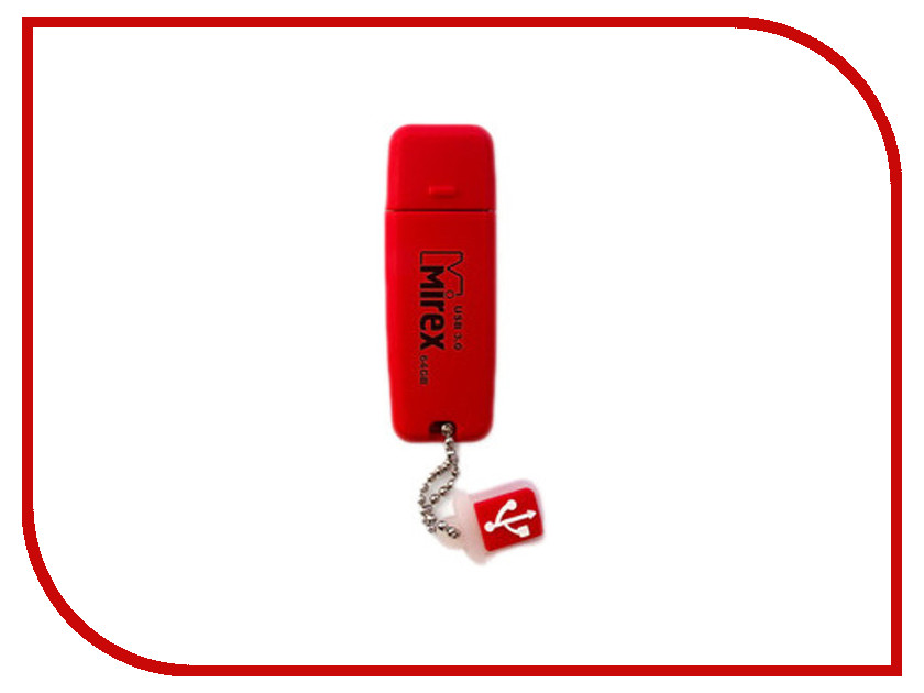 USB Flash Drive 8Gb - Mirex Chromatic Red 13600-FM3CHR08