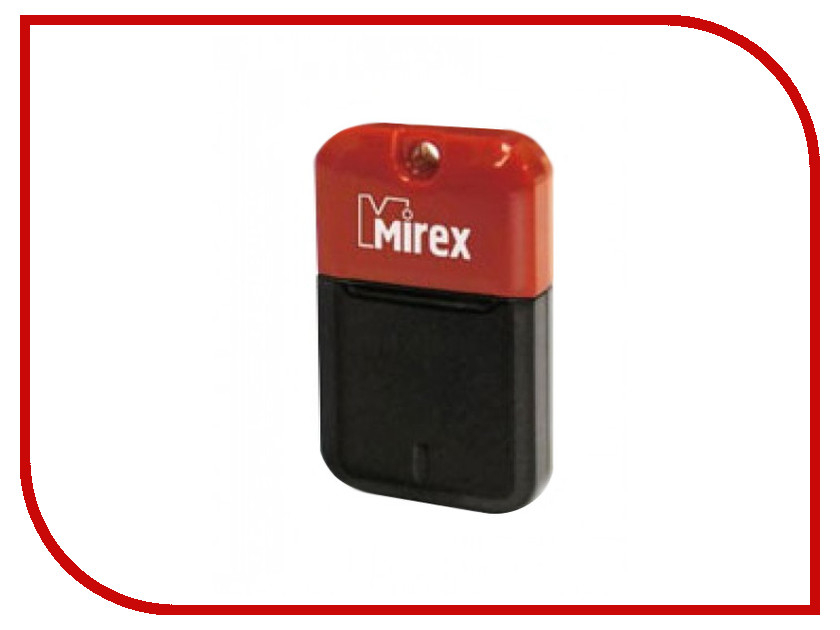 USB Flash Drive 8Gb - Mirex Arton Red 13600-FMUART08<br>