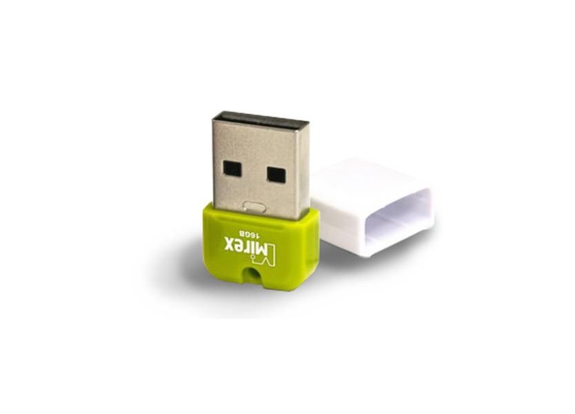 USB Flash Drive 32Gb - Mirex Arton Green 13600-FMUAGR32<br>