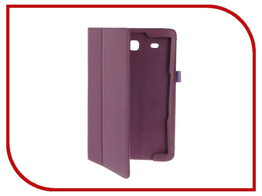 Аксессуар Чехол Palmexx for Samsung Galaxy Tab E 9.6 SM-T561N Smartslim иск. кожа Purple