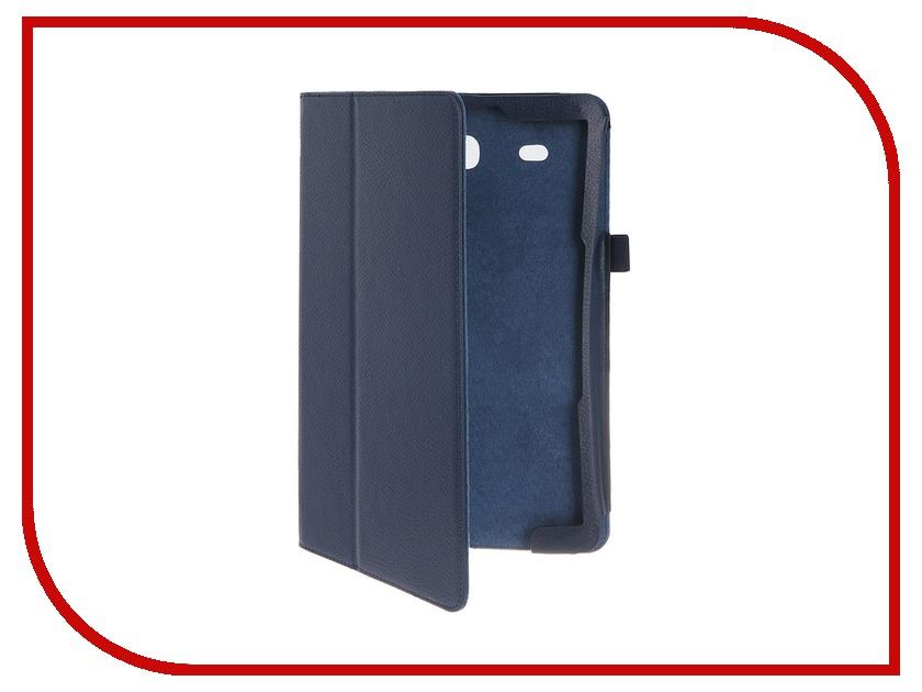 Аксессуар Чехол Palmexx for Samsung Galaxy Tab E 9.6 SM-T561N Smartslim иск. кожа Blue