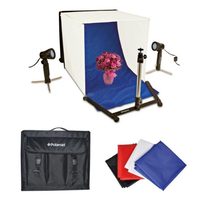Комплект студийного света Polaroid Studio Light Tent Kit LED PLPS<br>