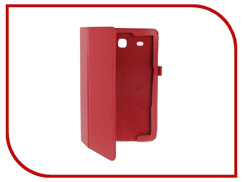 Аксессуар Чехол Palmexx for Samsung Galaxy Tab E 9.6 SM-T561N Smartslim иск. кожа Red<br>