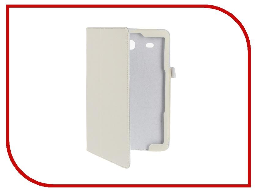 Аксессуар Чехол Palmexx for Samsung Galaxy Tab E 9.6 SM-T561N Smartslim иск. кожа White планшет samsung galaxy tab e 9 6 sm t561n 8gb white
