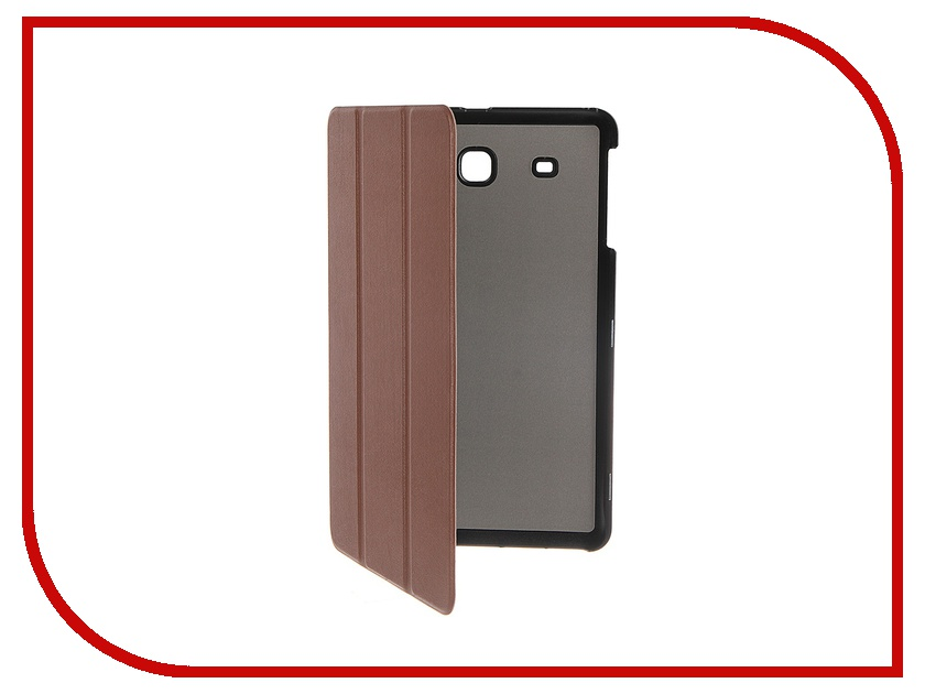 Аксессуар Чехол Palmexx for Samsung Galaxy Tab E 9.6 SM-T561N Smartbook иск. кожа Brown<br>