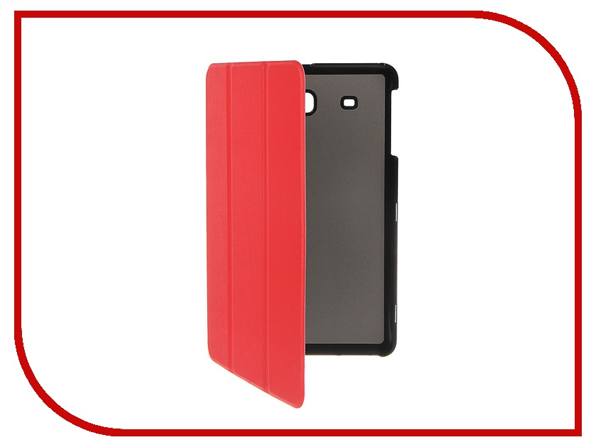 Аксессуар Чехол Palmexx for Samsung Galaxy Tab E 9.6 SM-T561N Smartbook иск. кожа Red