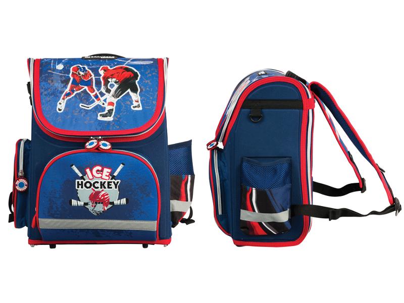 Рюкзак BRAUBERG Хоккей 224731 Blue<br>