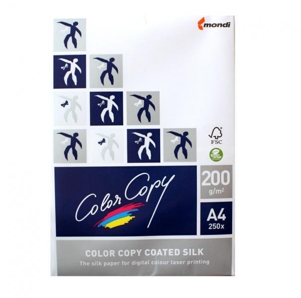 Бумага Color Copy Coated Silk А4 200g/m2 250 листов 110331<br>