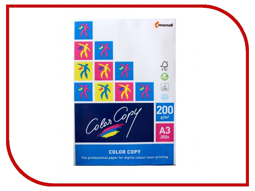 Бумага Color Copy A3 200g/m2 250 листов 110354