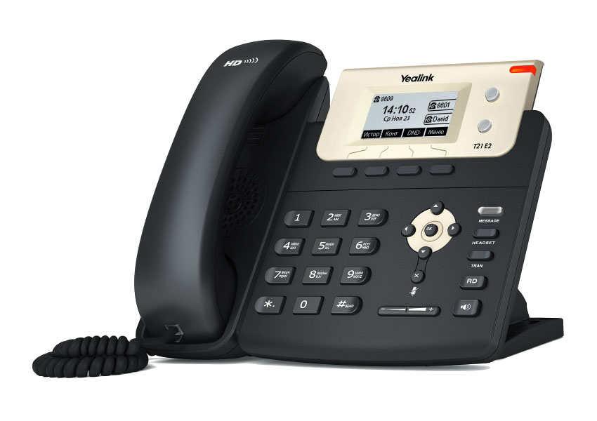 VoIP оборудование Yealink SIP-T21 E2 4 channels 4 gsm voip gateway goip 4 goip4 for asterisk trixbox 3cx sip proxy server voip buster