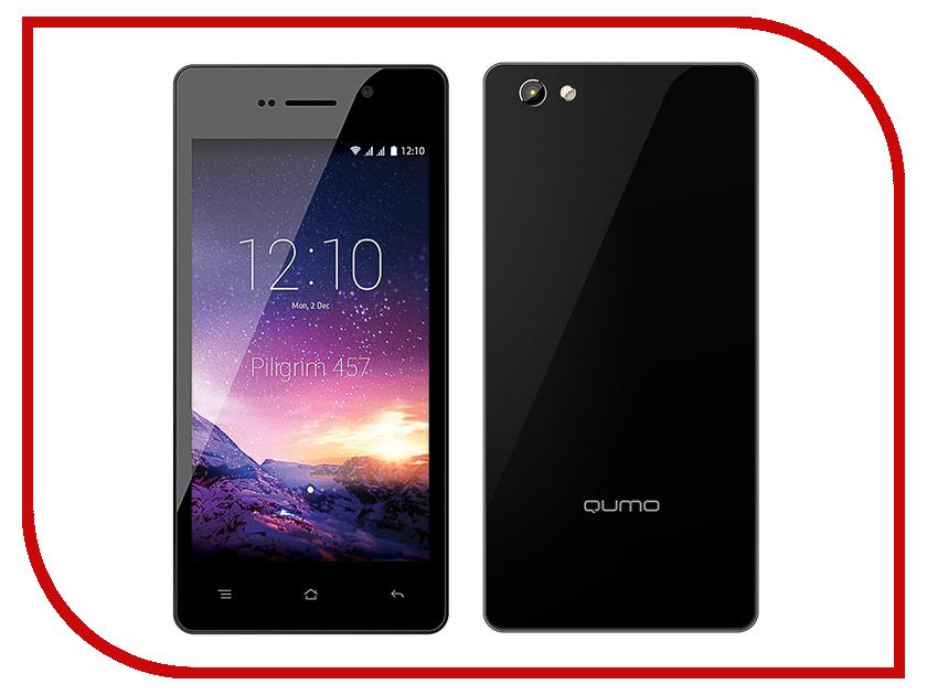 Сотовый телефон Qumo Quest 457 Black-Silver<br>