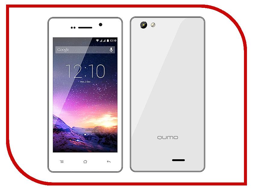 Сотовый телефон Qumo Quest 457 White-Silver<br>