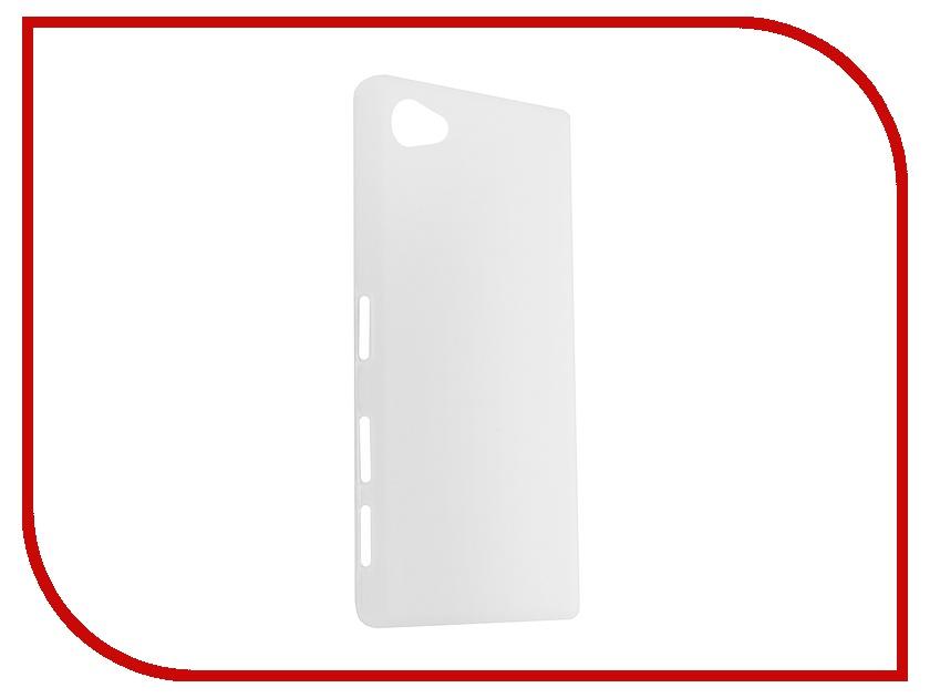 Аксессуар Чехол Sony Xperia Z5 Activ White Mat 52757