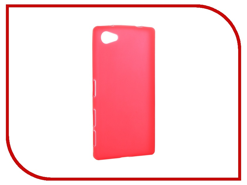 Аксессуар Чехол Sony Xperia Z5 Activ Red Mat 52756<br>