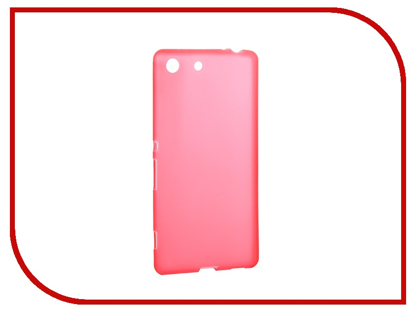 Аксессуар Чехол Sony Xperia M5 Activ Red Mat 52753