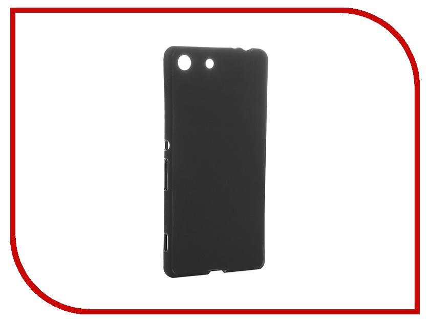 Аксессуар Чехол Sony Xperia M5 Activ Black Mat 52752<br>
