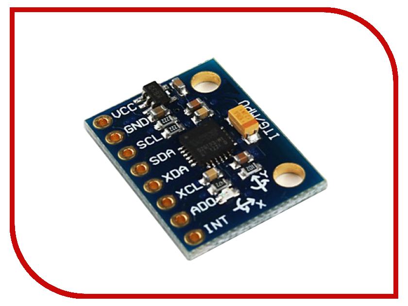 Игрушка Конструктор Радио КИТ RA041 GY-521 - MPU-6050 - 3-х осевой гироскоп + акселерометр<br>