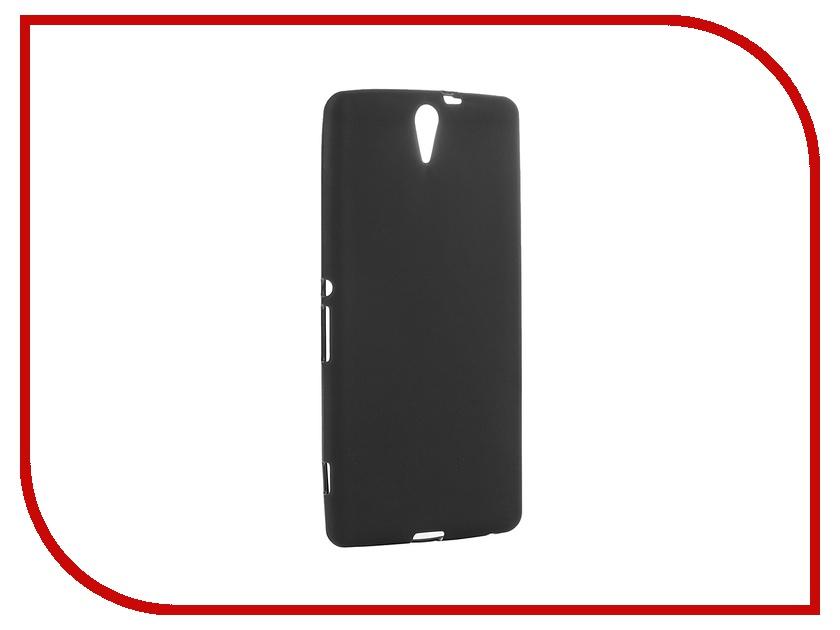 Аксессуар Чехол Sony Xperia C5 Ultra Activ Black Mat 52447<br>