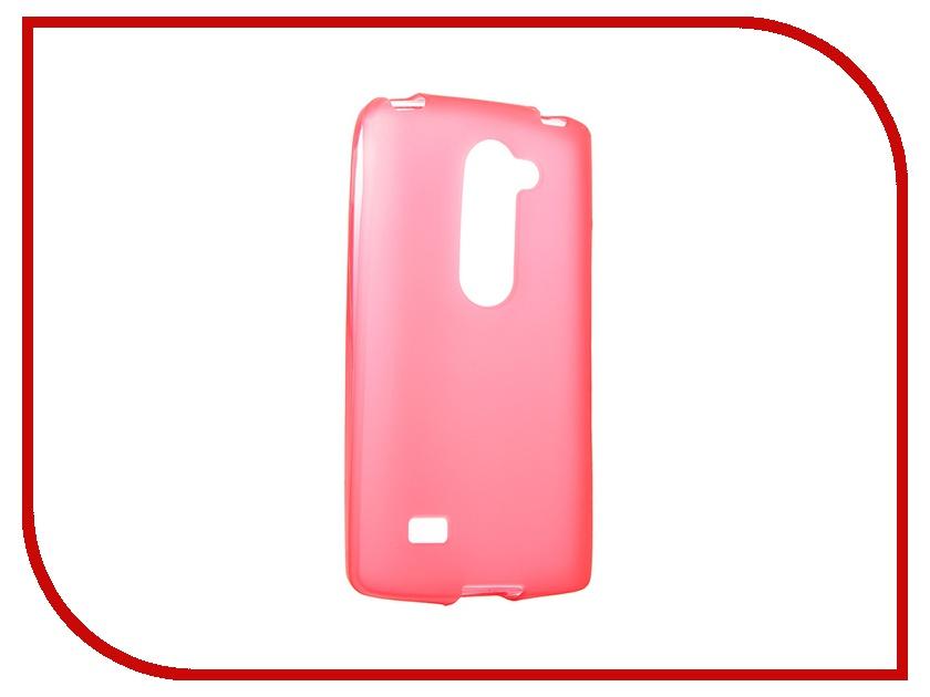 Аксессуар Чехол LG H324 Leon Activ Red Mat 49564<br>