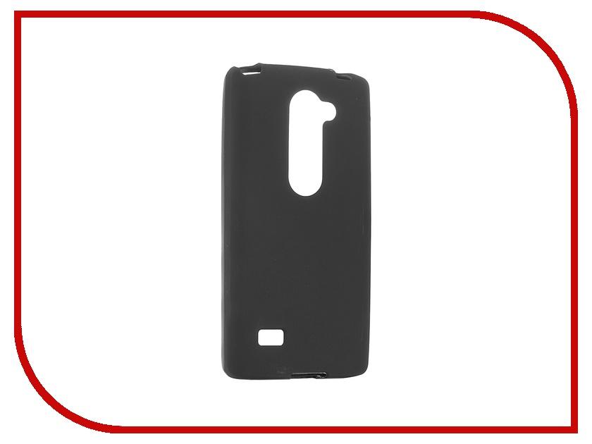 Аксессуар Чехол LG H324 Leon Activ Black Mat 49563<br>
