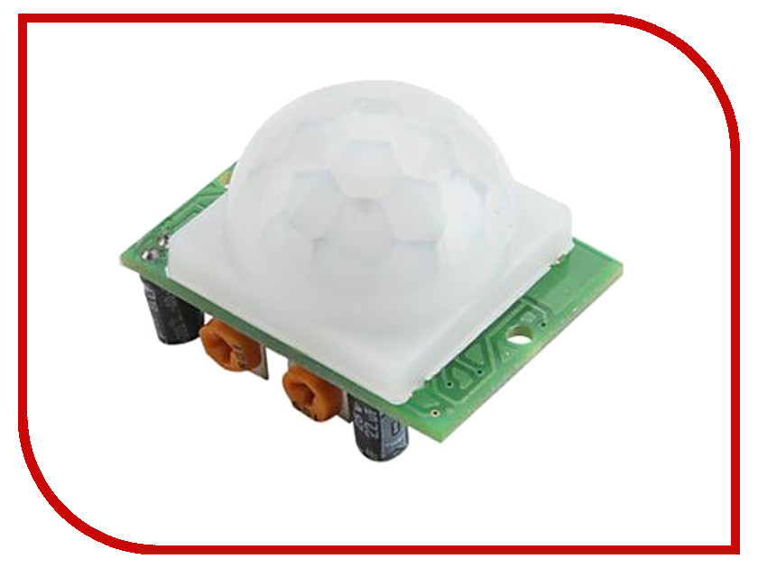 Конструктор Радио КИТ Датчик присутствия HC-SR501 RA007 cheap mc 38 wired door window sensor mc38 magnetic switch normally closed nc for our home gsm pstn alarm system