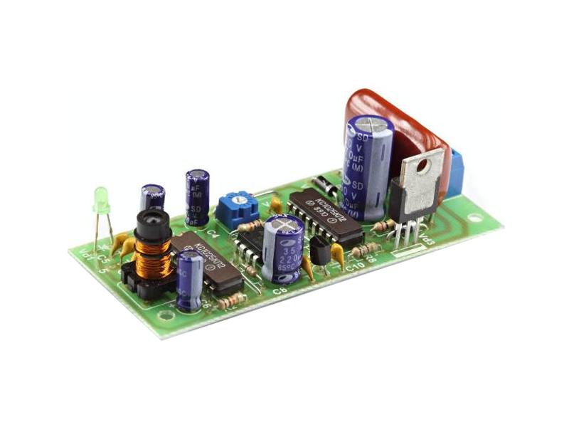 Конструктор Радио КИТ RA108M - емкостное реле с задержкой на выключение
