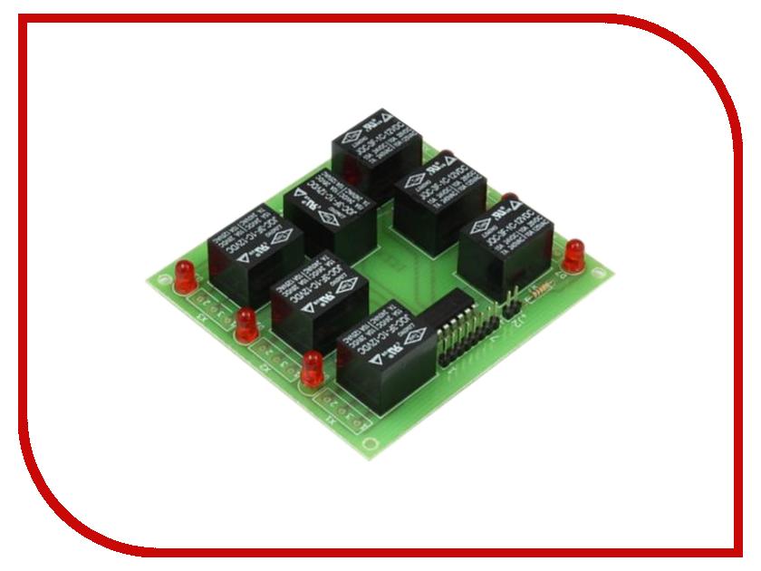 Конструктор Блок реле Радио КИТ RA231M конструктор блок гальванической развязки для программатора avr isp радио кит rc230