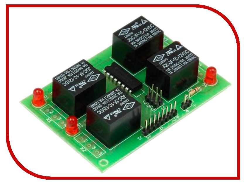 Конструктор Блок реле Радио КИТ RA232M конструктор блок гальванической развязки для программатора avr isp радио кит rc230