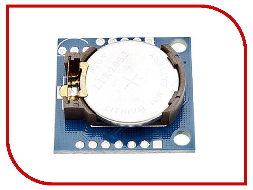 Игрушка Конструктор Радио КИТ RC009 - модуль часов реального времени