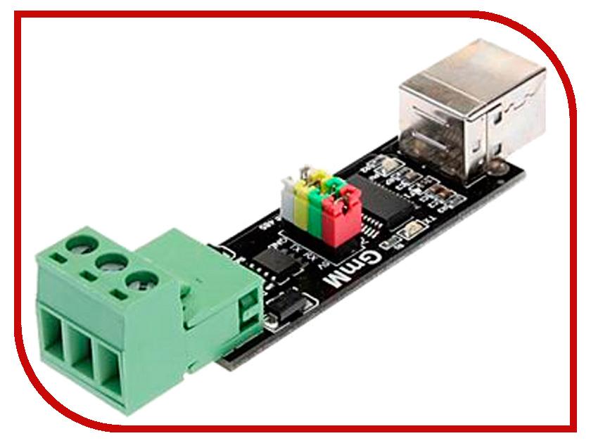 Конструктор Радио КИТ Модуль двустороннего преобразования USB в TTL или RS485 RC011 игрушка конструктор радио кит rf008 модуль радиоприёмника
