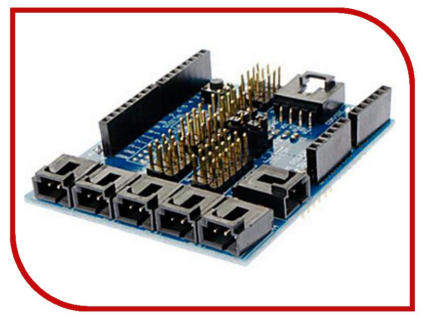 Конструктор Радио КИТ Модуль RC020 Sensor Shield V4 для Arduino игрушка конструктор радио кит rf008 модуль радиоприёмника