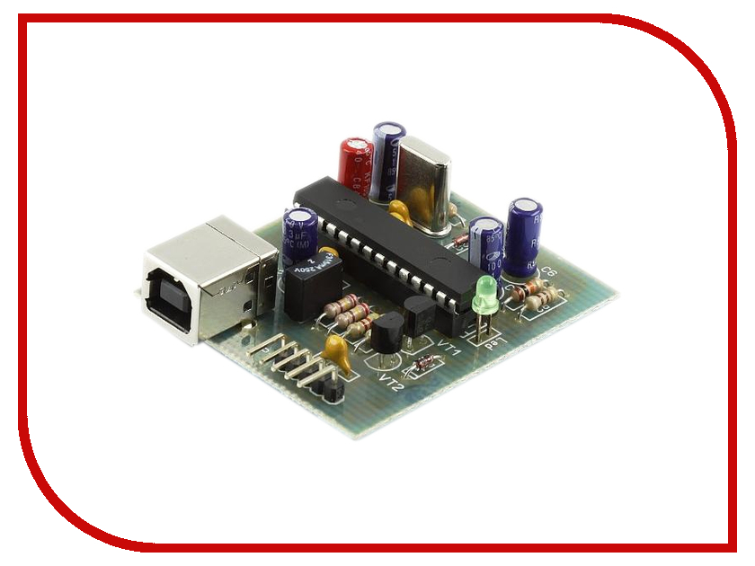 Игрушка Конструктор Радио КИТ GTP-USB-Lite RC221M - GTP-USB-Lite программатор PIC-контроллеров<br>
