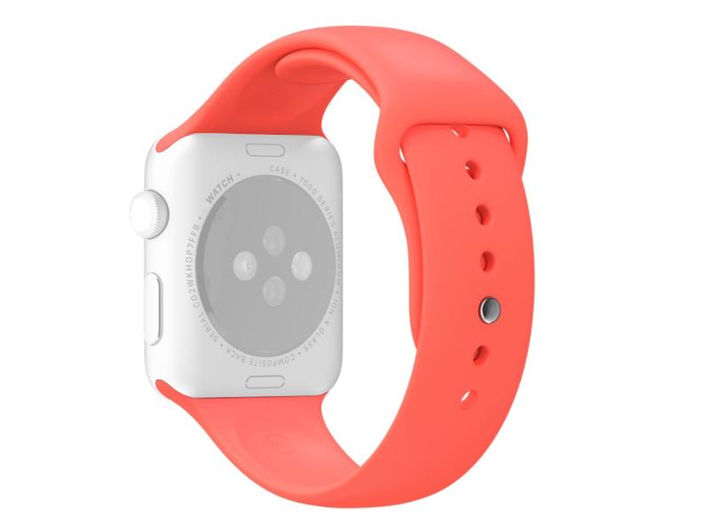 Аксессуар Ремешок APPLE Watch 38mm Activ Sport Band Red 54323 аксессуар ремешок apple watch 42mm activ indigo sport band 79544
