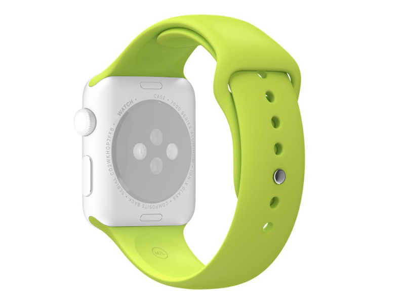 Аксессуар Ремешок APPLE Watch 38mm Activ Sport Band Green 54322
