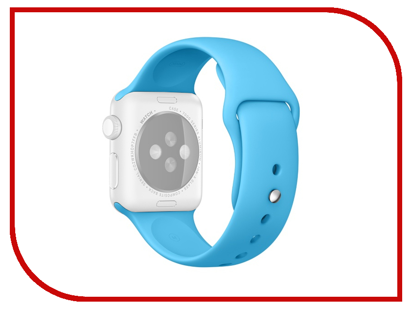 Аксессуар Ремешок APPLE Watch 38mm Activ Blue Sport Band 54321 аксессуар ремешок apple watch 38mm activ sport band white 54324