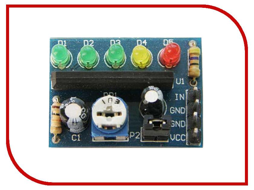 Игрушка Конструктор Радио КИТ STR993 RL001 - светодиодный индикатор уровня сигнала