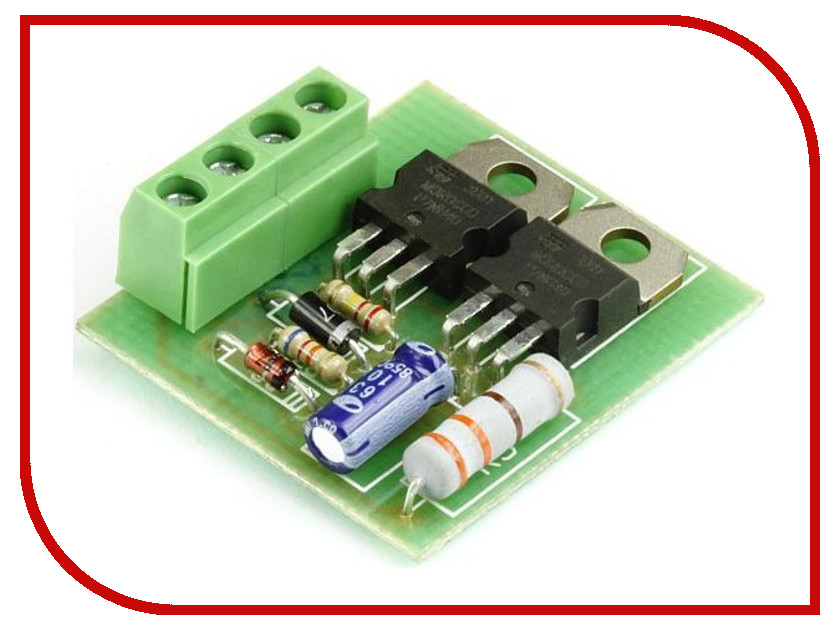 Игрушка Конструктор Радио КИТ RL134M - устройство плавного включения ламп накаливания<br>