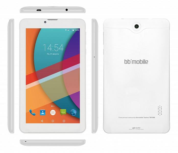 Планшет BB-mobile Techno 7.0 3G TM759E White<br>