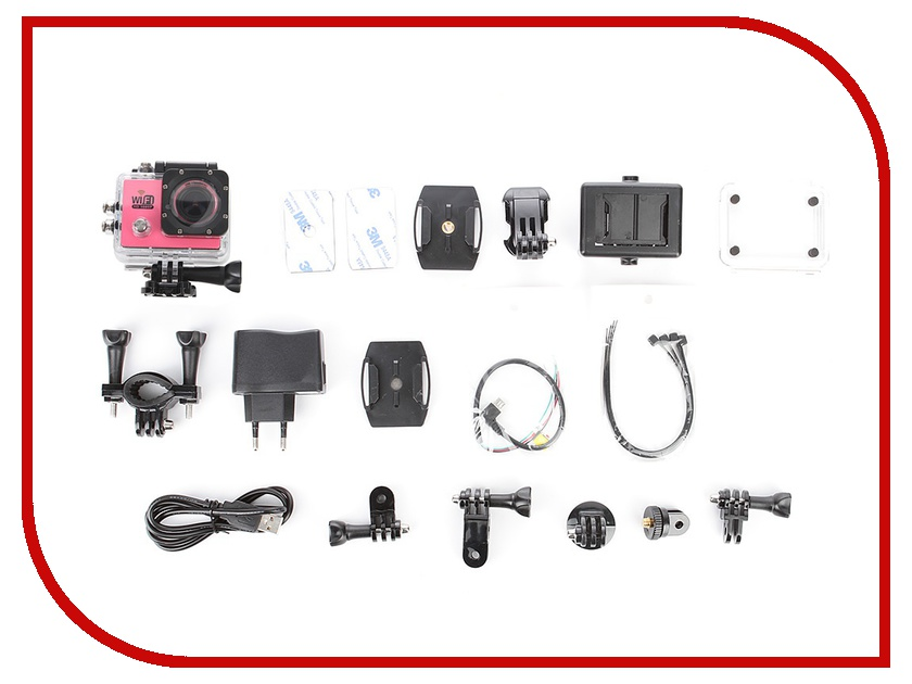 Экшн-камера Activ Sports 4000 Pink 51668 экшн камера activ 6000 ultra hd pink 55469
