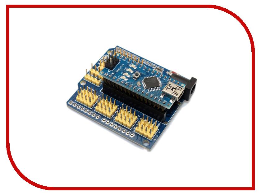 Плата-расширение для Arduino Nano / Pro Arduino KIT DK NANO Радио КИТ RP024<br>