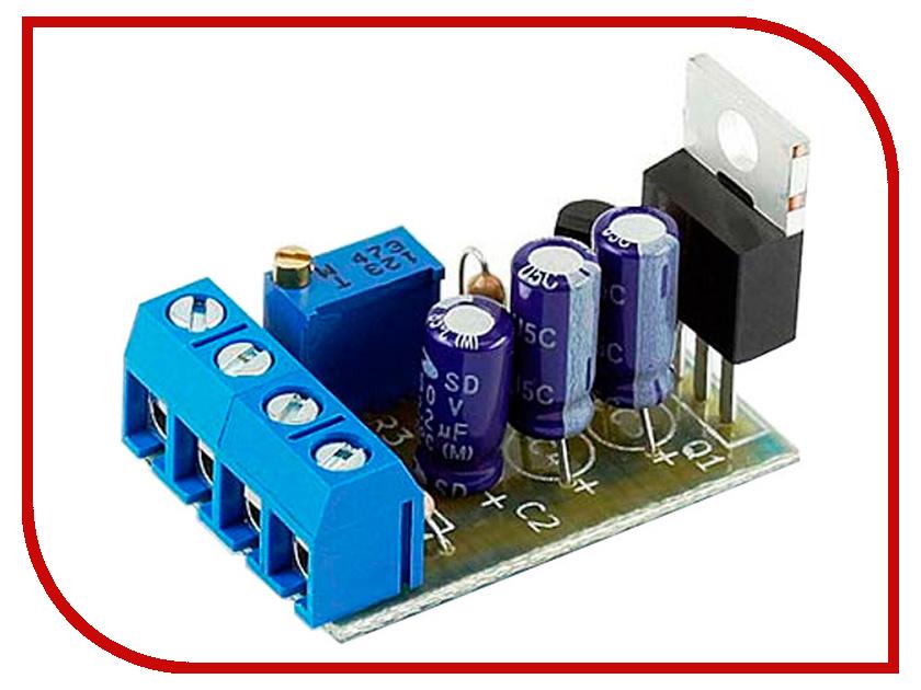 Конструктор Регулируемый стабилизатор напряжения Радио КИТ RP212M конструктор конструктор радио кит rp101 стабилизатор напряжения 5 в