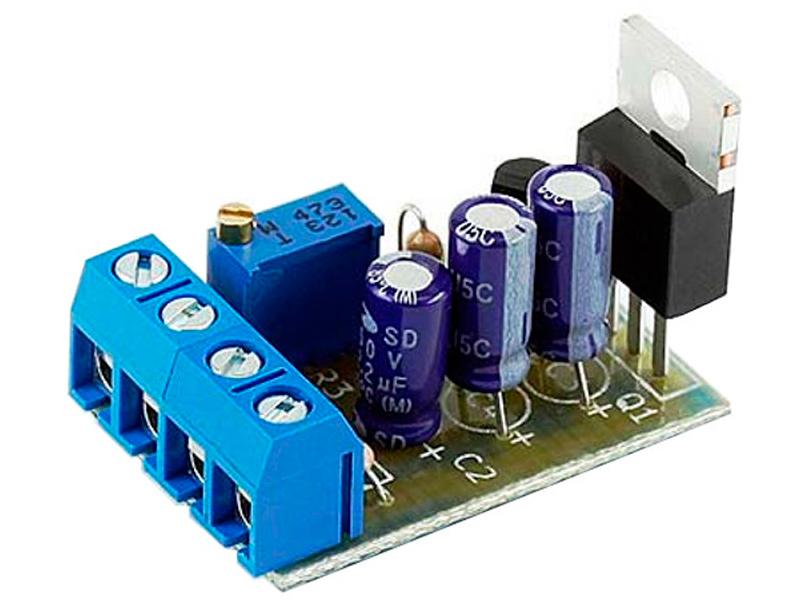 Конструктор Радио КИТ Регулируемый стабилизатор напряжения RP212M конструктор радио кит ампер вольтметр dsn vc288 ri048