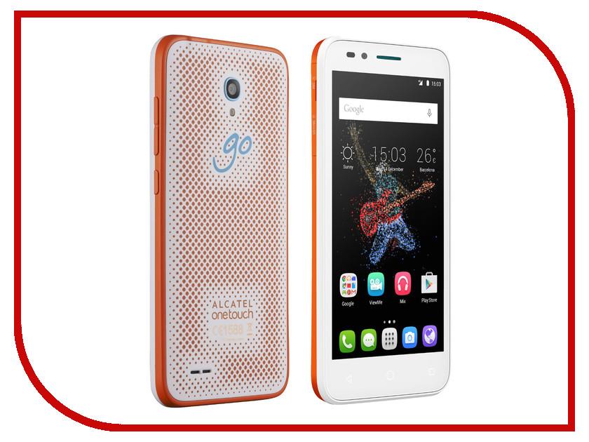 Сотовый телефон Alcatel OneTouch 7048X Go Play Orange White alcatel one touch 7048x go play white orange white