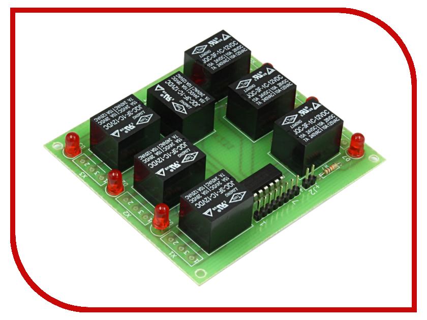 Конструктор Блок реле Радио КИТ RA231 конструктор блок гальванической развязки для программатора avr isp радио кит rc230