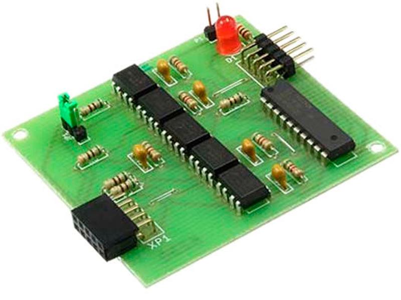 Конструктор Радио КИТ Блок гальванической развязки для программатора AVR ISP RC230 конструктор радио кит ампер вольтметр dsn vc288 ri048